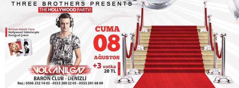 Denizli Baron Club DJ Volkan Ilgaz the hollywood party