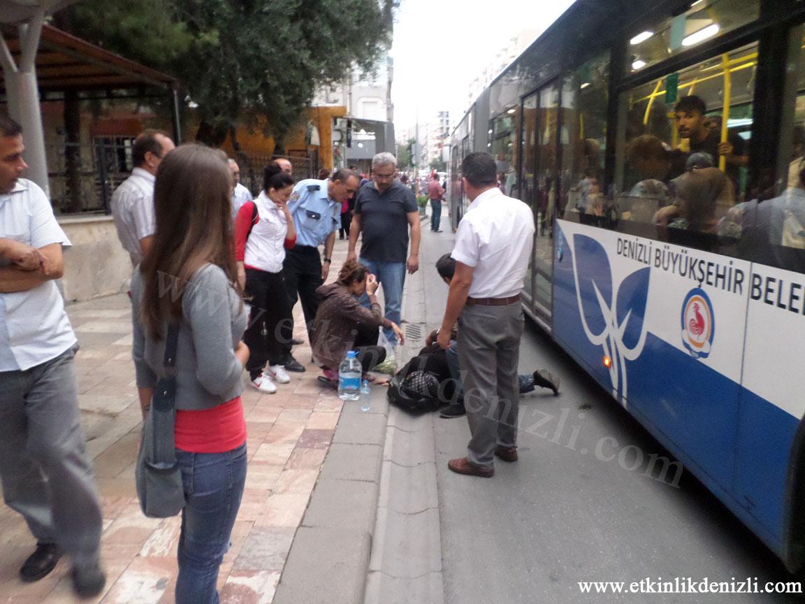 Denizli 20 numara otobüs kazası