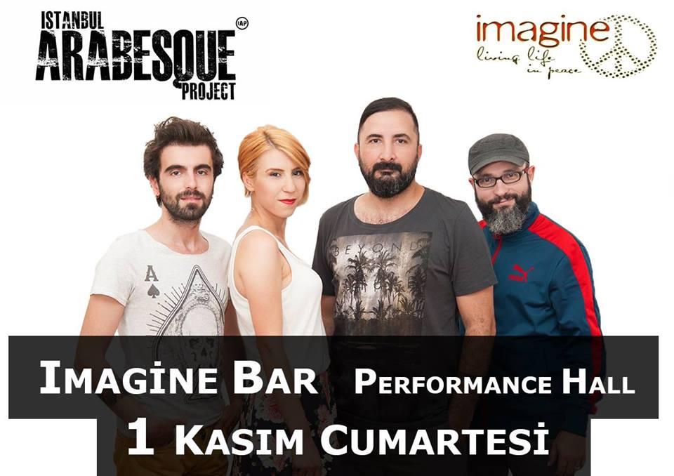 Denizli imagine bar Istanbul Arabesque Project konseri