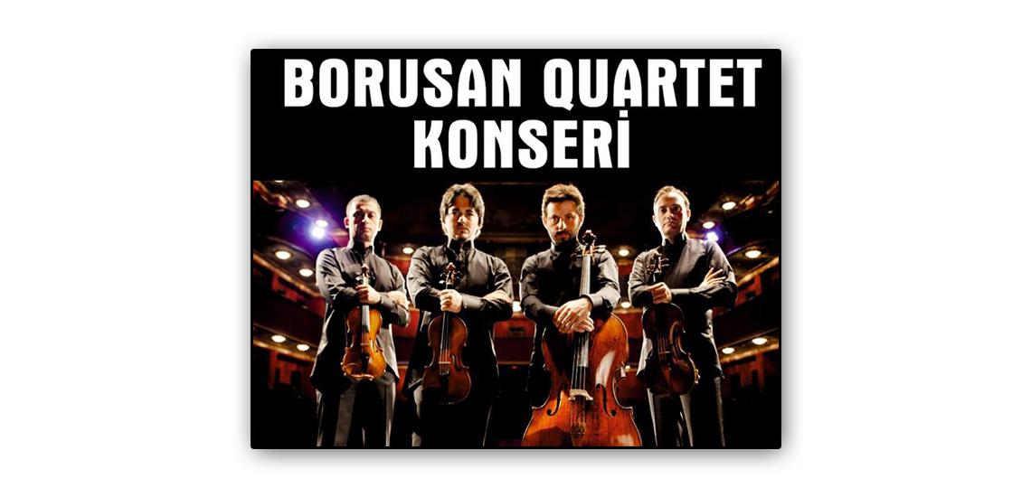 Denizli EGS kongre ve kültür merkezi borusan quartet konseri