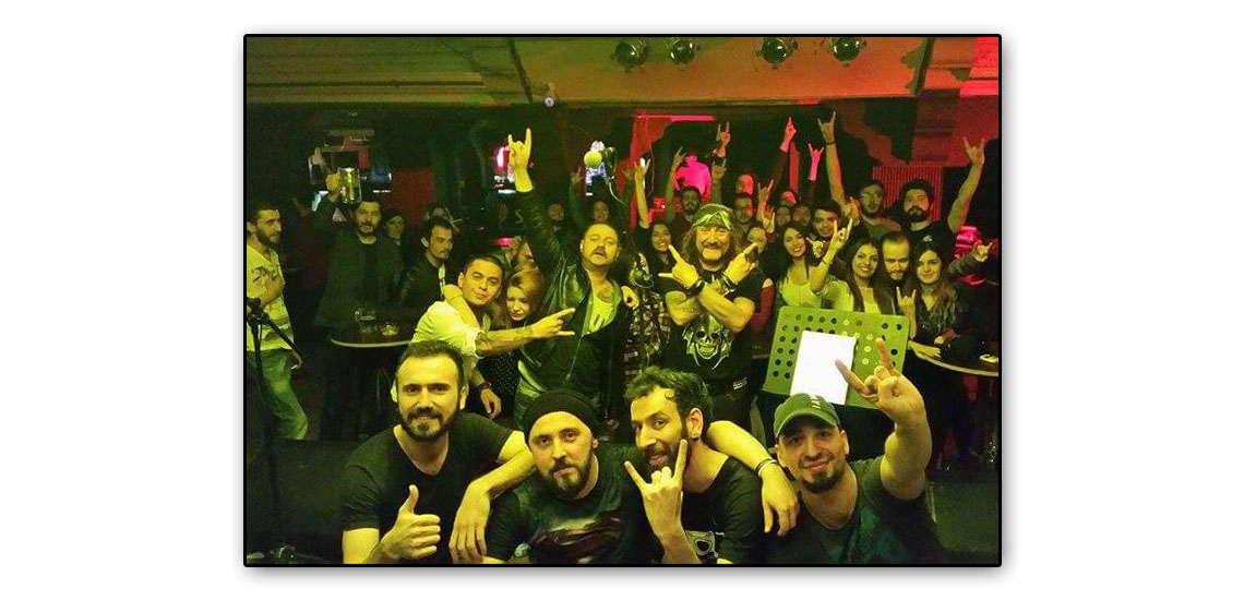 Denizli imagine bar tahta live band konseri
