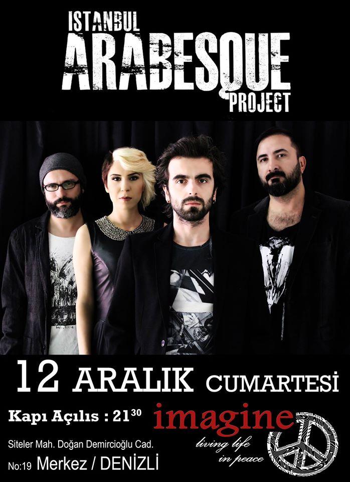 denizli İstanbul Arabesque Project imagine bar