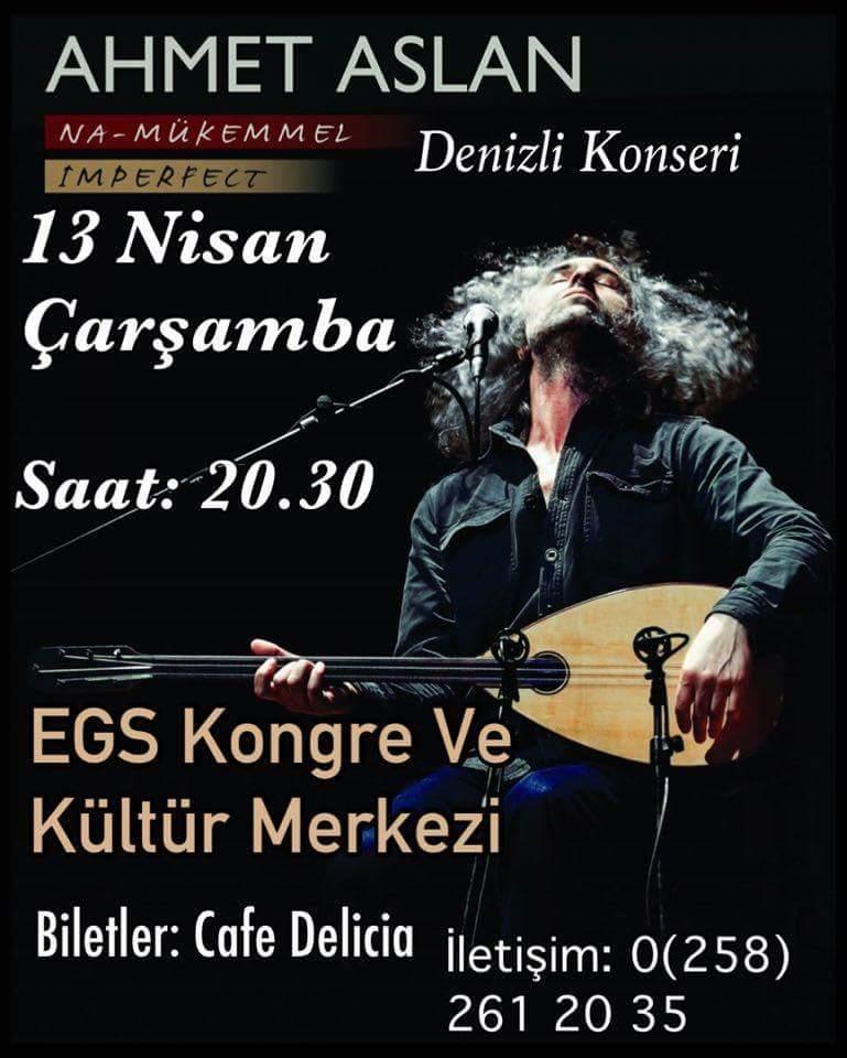 Denizli Ahmet Aslan egs konser