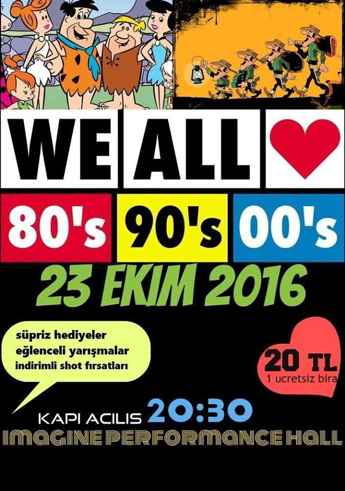 denizli 80ler 90lar party imagine bar