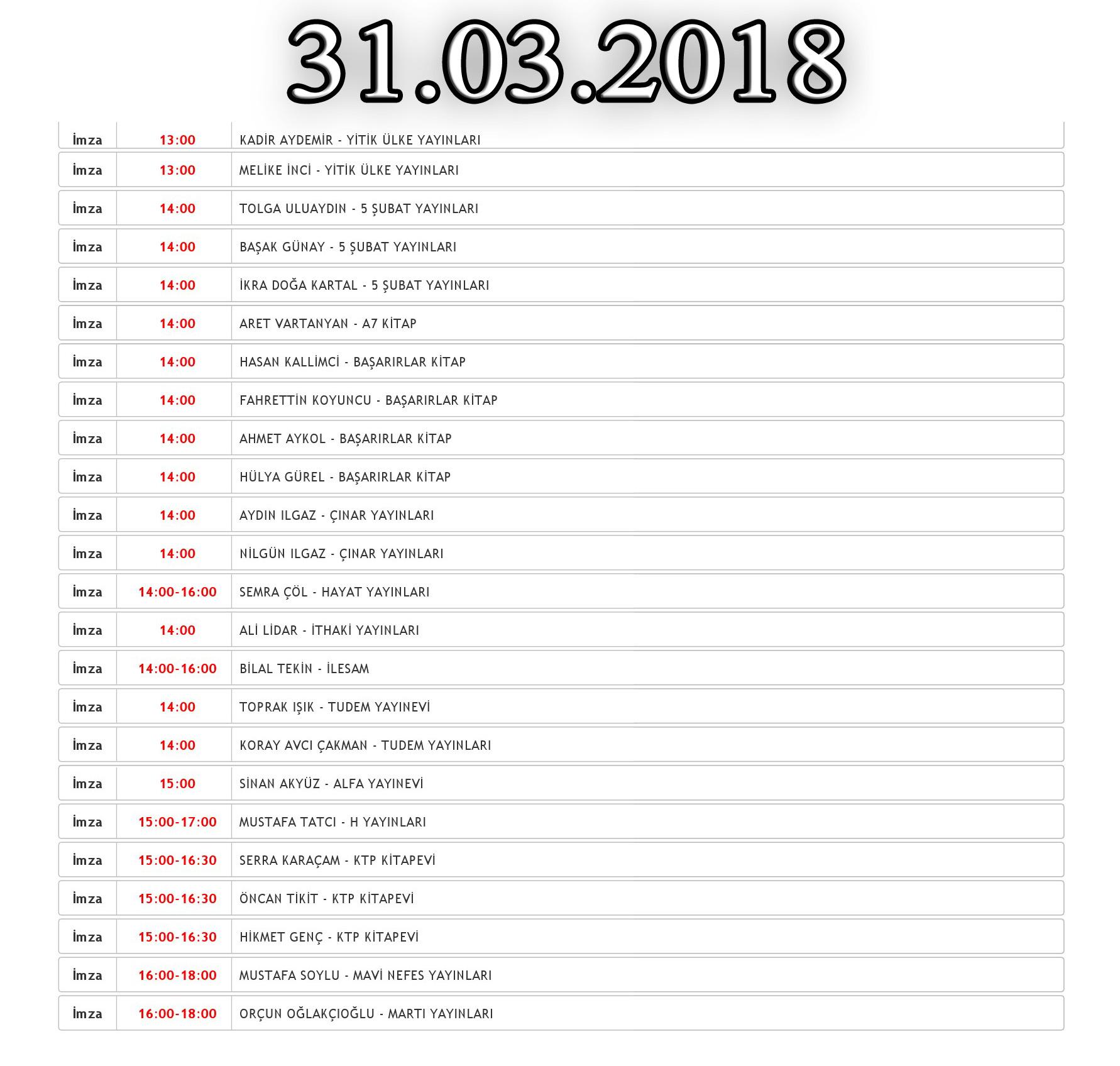 2018 denizli kitap fuarı 2.gün