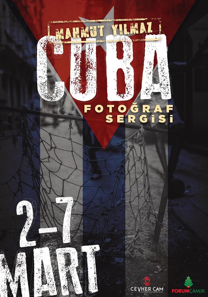 Denizli Küba Fotoğraf Sergisi Forum Çamlık Mahmut Yılmaz