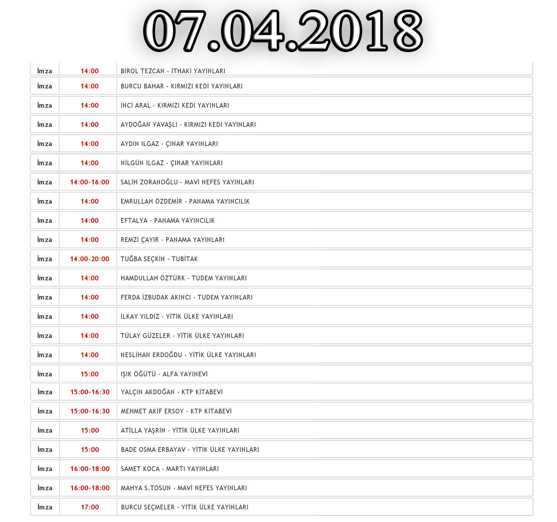 2018 denizli kitap fuarı 9.gün