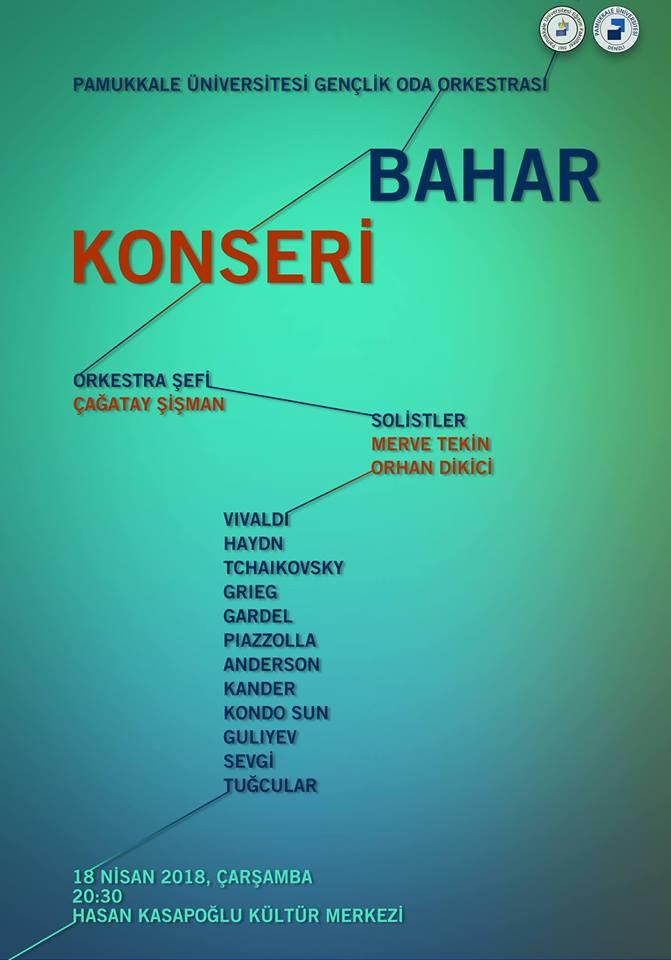 PAÜ BAHAR KONSERİ