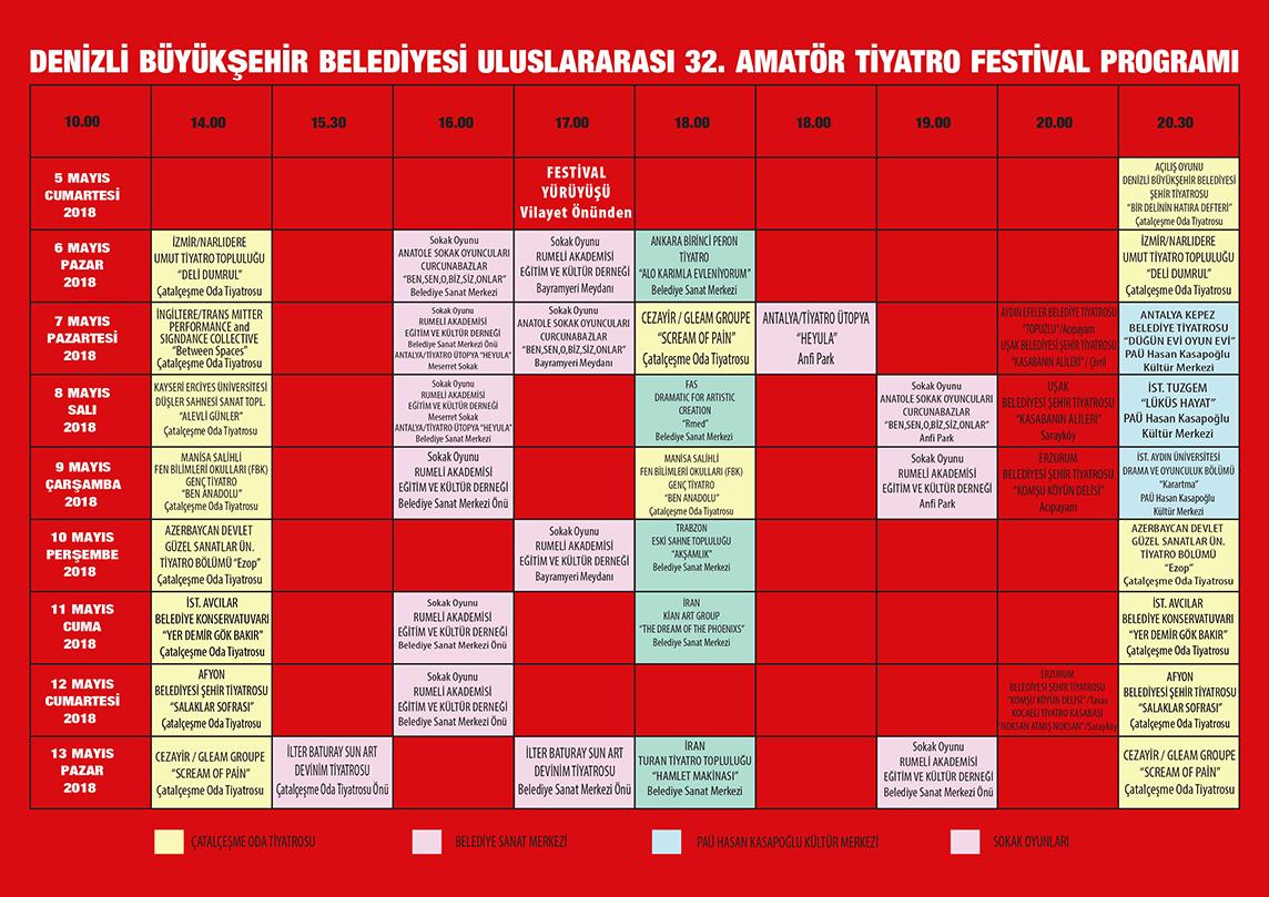 32.uluslararası tiyatro festivali denizli