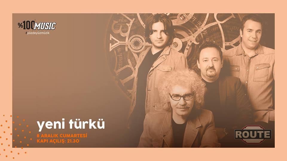 Route Yeni Türkü Denizli